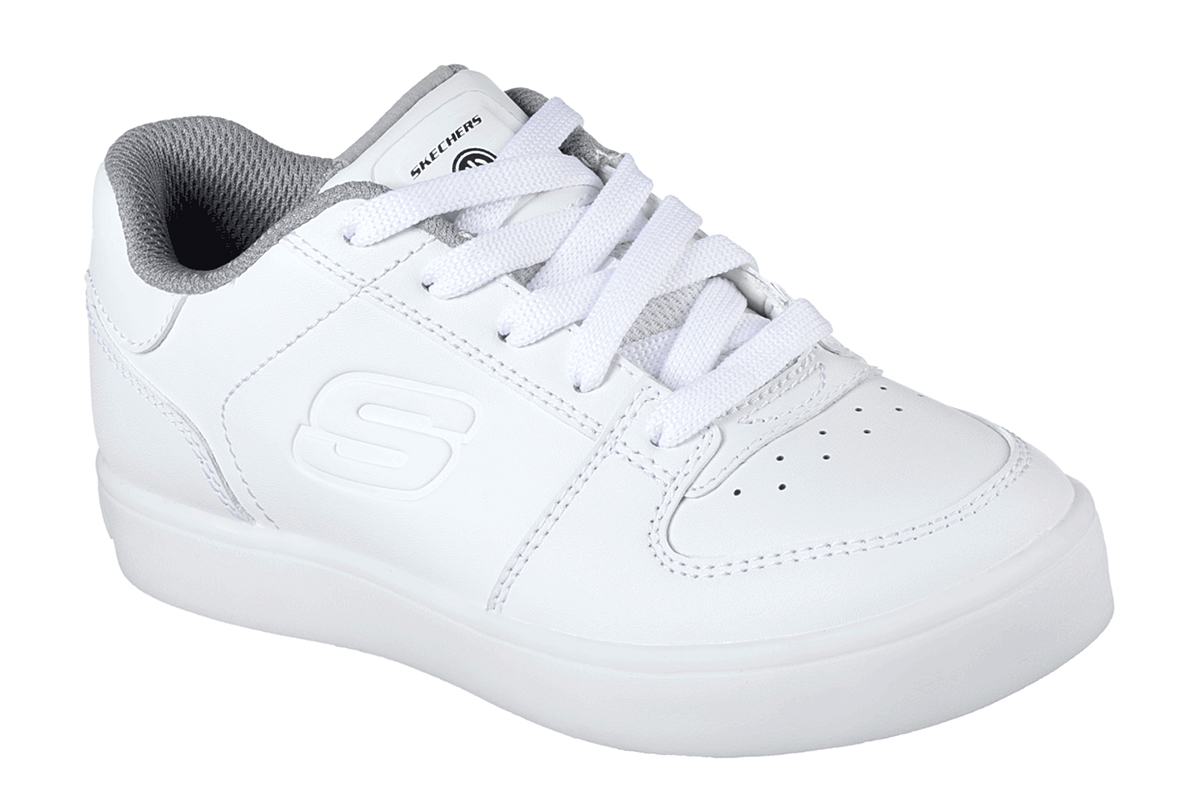SKECHERS 90601L/ WHT WHITE