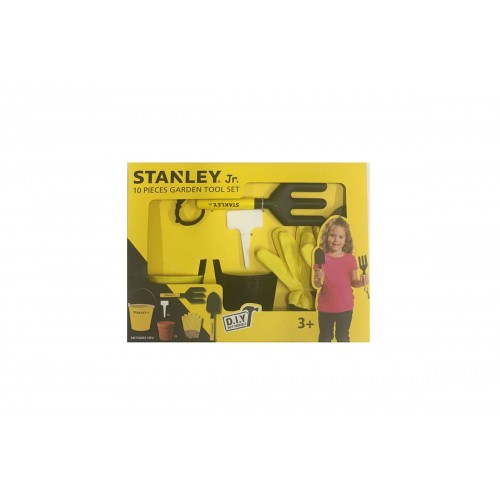 Stanley Jr Σετ εργαλείων κήπου 10 τεμαχίων SG003-1