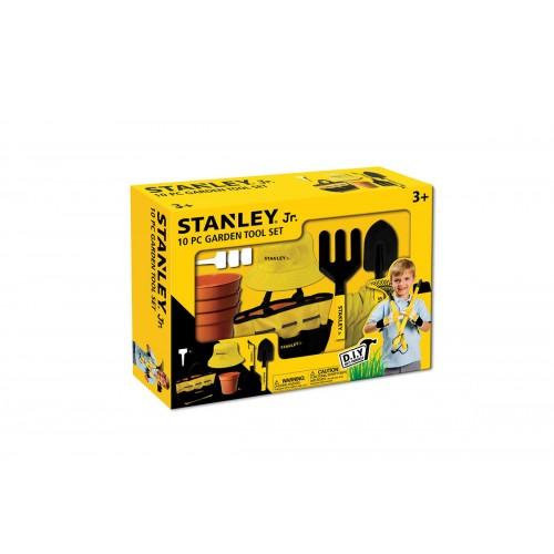 Stanley Jr Σετ εργαλείων κήπου 10 τεμαχίων SG004-1