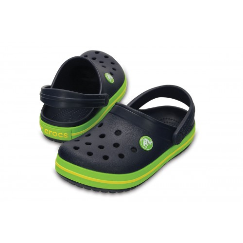 ΠΑΙΔΙΚΑ ΣΑΜΠΟ CROCS CROCBAND CLOG NAVY / GREEN