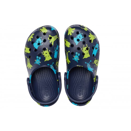ΠΑΙΔΙΚΑ ΣΑΜΠΟ CROCS CLASSIC MONSTER PRINT CLOG