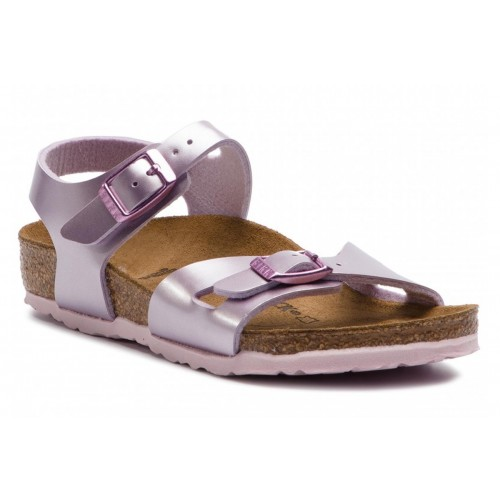 BIRKENSTOCK RIO ELECTRIC METALLIC