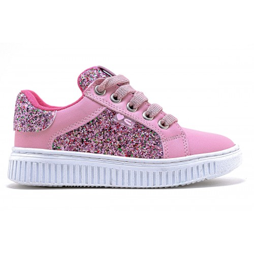 ΠΑΙΔΙΚΑ SNEAKERS CROCODILINO GLITTER