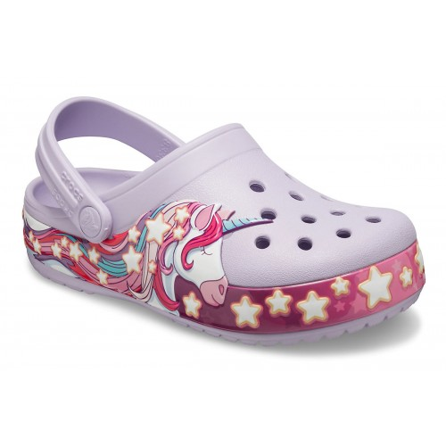 ΠΑΙΔΙΚΑ ΣΑΜΠΟ CROCS FUNLAB UNICORN BAND LAVENDER