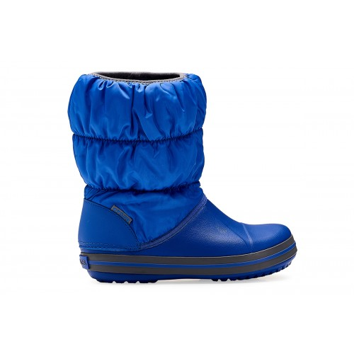 Crocs shoes Παιδικό μποτάκι Winter Puff Boot Kids cerulean