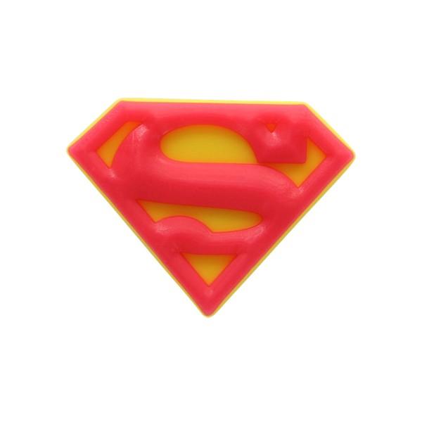 CROCS PIN B SUPERMAN