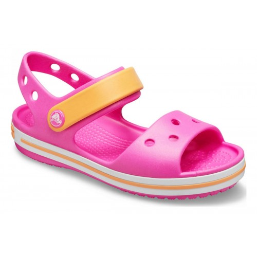 ΠΑΙΔΙΚΑ ΣΑΜΠΟ CROCS CROCBAND ELECTRIC PINK / CANTA