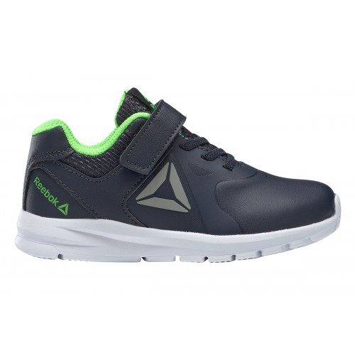 REEBOK RUSH RUNNER NAVY/GREEN