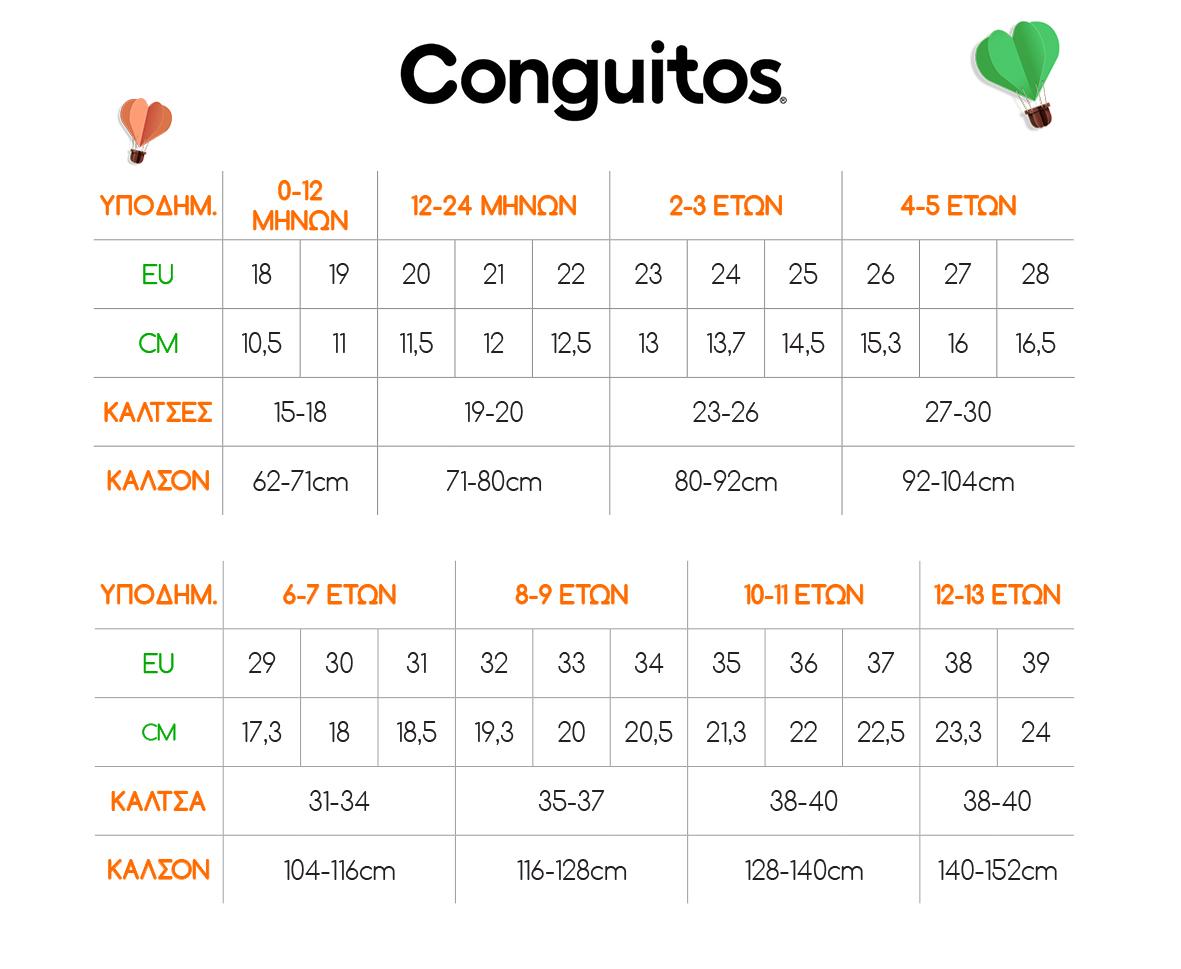 Size Guide Conquitos
